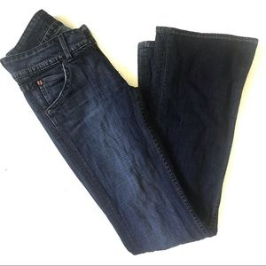 Hudson Signature Boot Cut Jeans Medium Wash
